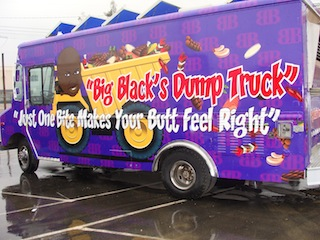 5. Wrap the truck after we got Rob's final approval...